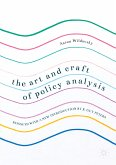 The Art and Craft of Policy Analysis (eBook, PDF)