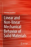 Linear and Non-linear Mechanical Behavior of Solid Materials (eBook, PDF)