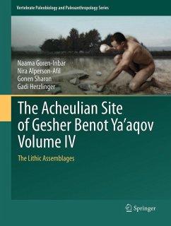The Acheulian Site of Gesher Benot Ya'aqov Volume IV (eBook, PDF) - Goren-Inbar, Naama; Alperson-Afil, Nira; Sharon, Gonen; Herzlinger, Gadi