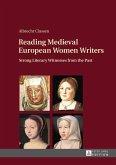 Reading Medieval European Women Writers (eBook, ePUB)