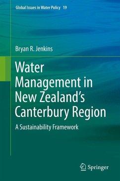 Water Management in New Zealand's Canterbury Region (eBook, PDF) - Jenkins, Bryan R.