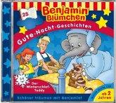 Benjamin Blümchen Gute-Nacht-Geschichten - Der Winterschlaf-Teddy, Audio-CD