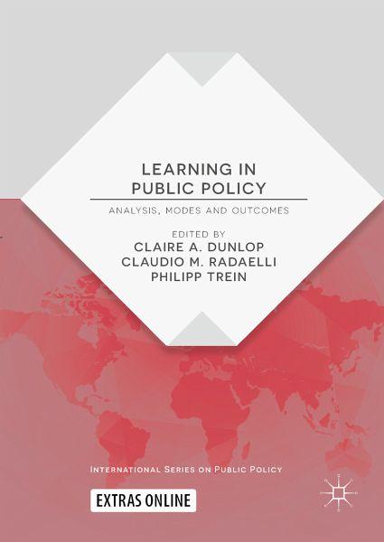 Learning In Public Policy Ebook Pdf Portofrei Bei Bücherde