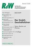 Der GmbH-Geschäftsführer (eBook, PDF)