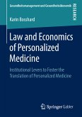 Law and Economics of Personalized Medicine (eBook, PDF)