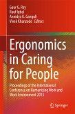Ergonomics in Caring for People (eBook, PDF)