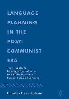 Language Planning in the Post-Communist Era (eBook, PDF)