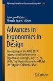 Advances in Ergonomics in Design (eBook, PDF)