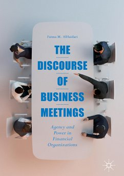 The Discourse of Business Meetings (eBook, PDF) - Alhaidari, Fatma M.