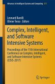 Complex, Intelligent, and Software Intensive Systems (eBook, PDF)
