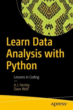 Learn Data Analysis with Python (eBook, PDF) - Henley, A. J.; Wolf, Dave
