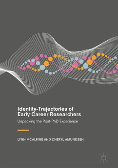 Identity-Trajectories of Early Career Researchers (eBook, PDF)