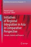 Initiatives of Regional Integration in Asia in Comparative Perspective (eBook, PDF)