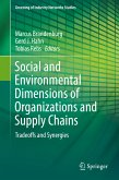 Social and Environmental Dimensions of Organizations and Supply Chains (eBook, PDF)