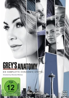 Grey's Anatomy - Die komplette vierzehnte Staffel