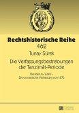 Die Verfassungsbestrebungen der Tanzimat-Periode (eBook, ePUB)