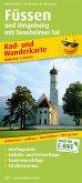 PublicPress Rad- und Wanderkarte Füssen und Umgebung mit Tannheimer Tal