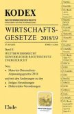 KODEX Wirtschaftsgesetze 2018/19 (f. Österreich)