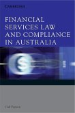 Financial Services Law and Compliance in Australia (eBook, ePUB)