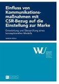 Einfluss von Kommunikationsmanahmen mit CSR-Bezug auf die Einstellung zur Marke (eBook, ePUB)