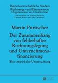 Der Zusammenhang von fehlerhafter Rechnungslegung und Unternehmensfinanzierung (eBook, ePUB)