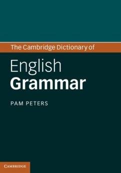 Cambridge Dictionary of English Grammar (eBook, PDF) - Peters, Pam