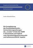 Die Europaeisierung des Persoenlichkeitsrechts - Harmonisierungswirkungen des CarolineUrteils des EGMR in Deutschland und England unter Beruecksichtigung prozessualer und kollisionsrechtlicher Aspekte (eBook, PDF)