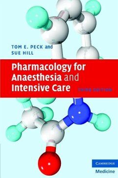 Pharmacology for Anaesthesia and Intensive Care (eBook, ePUB) - Peck, Tom E.