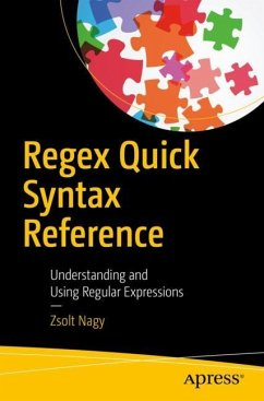 Regex Quick Syntax Reference - Nagy, Zsolt