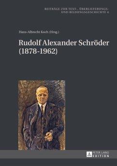 Rudolf Alexander Schroeder (1878-1962) (eBook, PDF)