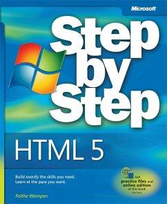 HTML5 Step by Step (eBook, ePUB) - Wempen, Faithe