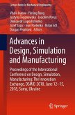 Advances in Design, Simulation and Manufacturing (eBook, PDF)