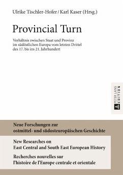 Provincial Turn (eBook, ePUB)