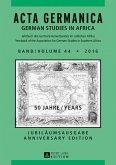 Acta Germanica Band / Volume 44 * 2016 (eBook, ePUB)