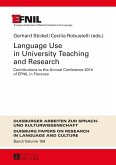 Language Use in University Teaching and Research (eBook, PDF)