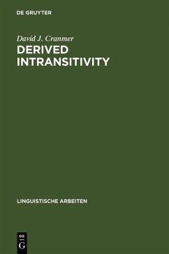 Derived Intransitivity (eBook, PDF) - Cranmer, David J.