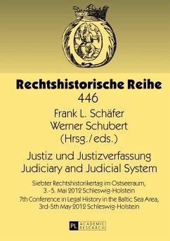 Justiz und Justizverfassung- Judiciary and Judicial System (eBook, PDF)