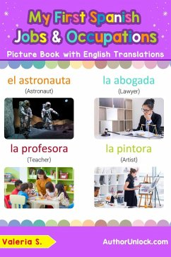 My First Spanish Jobs and Occupations Picture B...