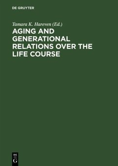 Aging and Generational Relations over the Life Course (eBook, PDF)