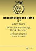 Richter, Sachverstaendige, Handelskammern (eBook, ePUB)