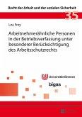Arbeitnehmeraehnliche Personen in der Betriebsverfassung unter besonderer Beruecksichtigung des Arbeitsschutzrechts (eBook, ePUB)