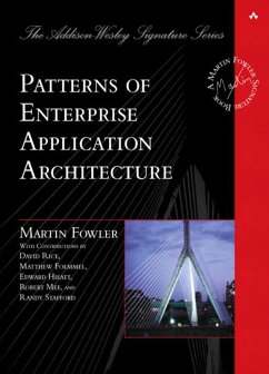 Patterns of Enterprise Application Architecture (eBook, PDF) - Fowler Martin