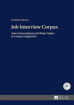 Job Interview Corpus (eBook, ePUB) - Wawra, Daniela