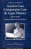 Critical Studies in Ancient Law, Comparative Law and Legal History (eBook, PDF)