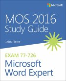 MOS 2016 Study Guide for Microsoft Word Expert (eBook, PDF)