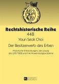 Der Besitzerwerb des Erben (eBook, PDF)