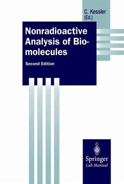Nonradioactive Analysis of Biomolecules (eBook, PDF)
