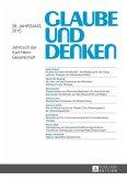 Glaube und Denken (eBook, ePUB)