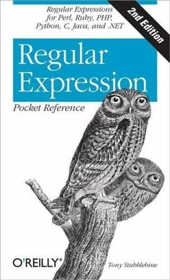 Regular Expression Pocket Reference (eBook, PDF) - Stubblebine, Tony