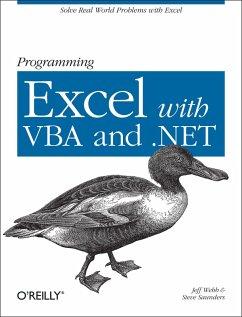 Programming Excel with VBA and .NET (eBook, ePUB) - Webb, Jeff